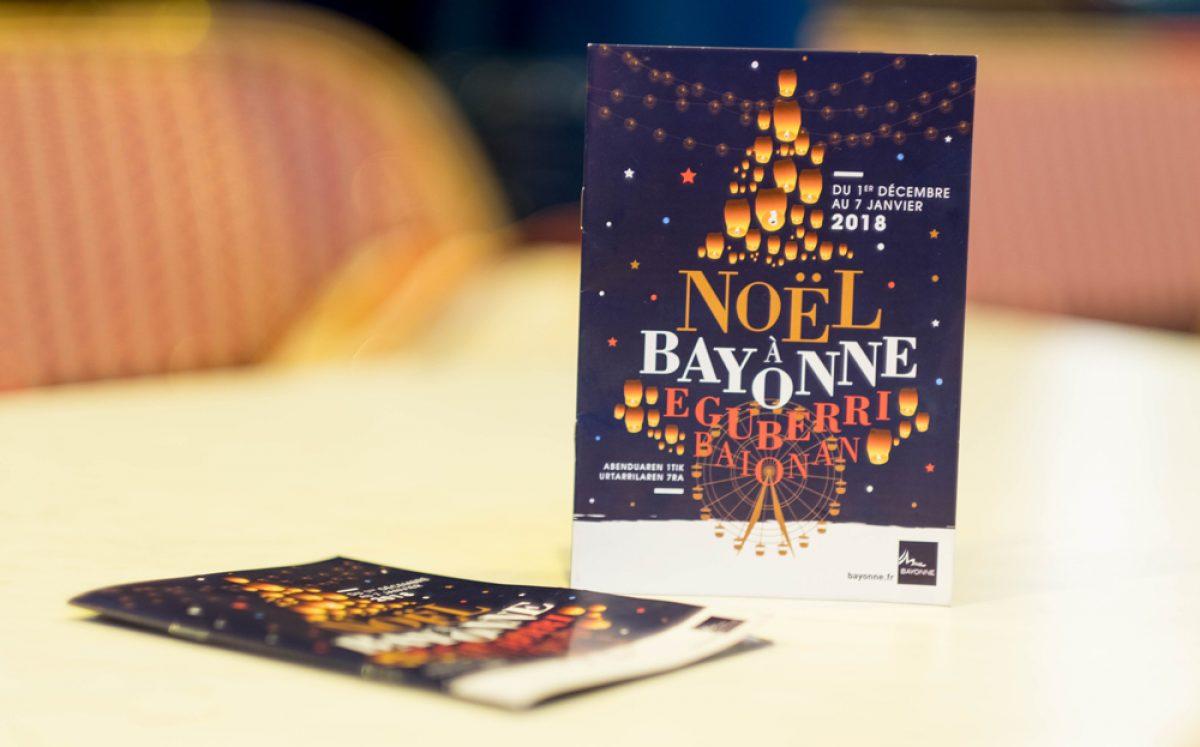programme de noel bayonne 2018 Noël à Bayonne   Design graphique programme de noel bayonne 2018